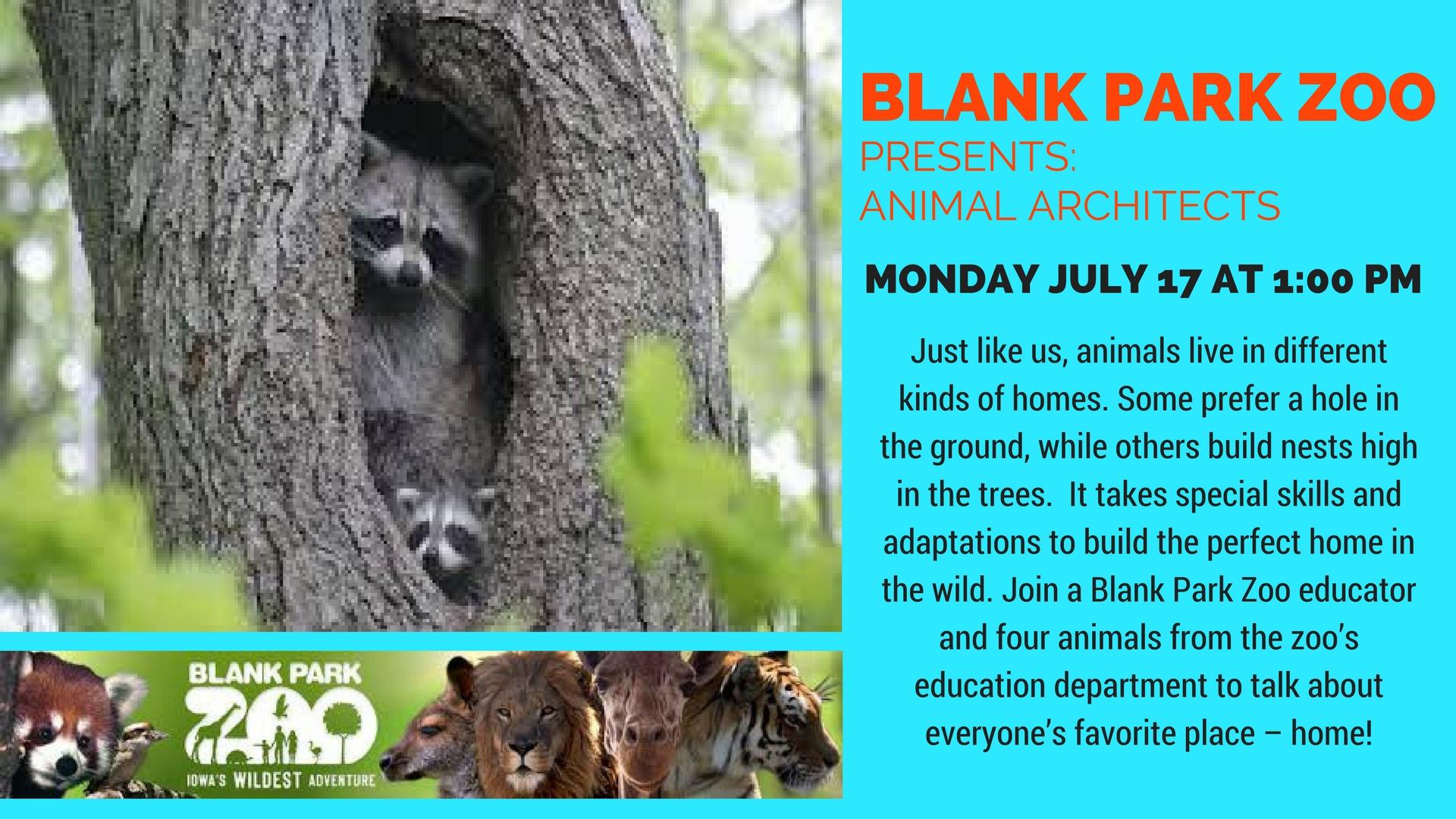 Blank Park Zoo Calendar : Events city of hiawatha ia