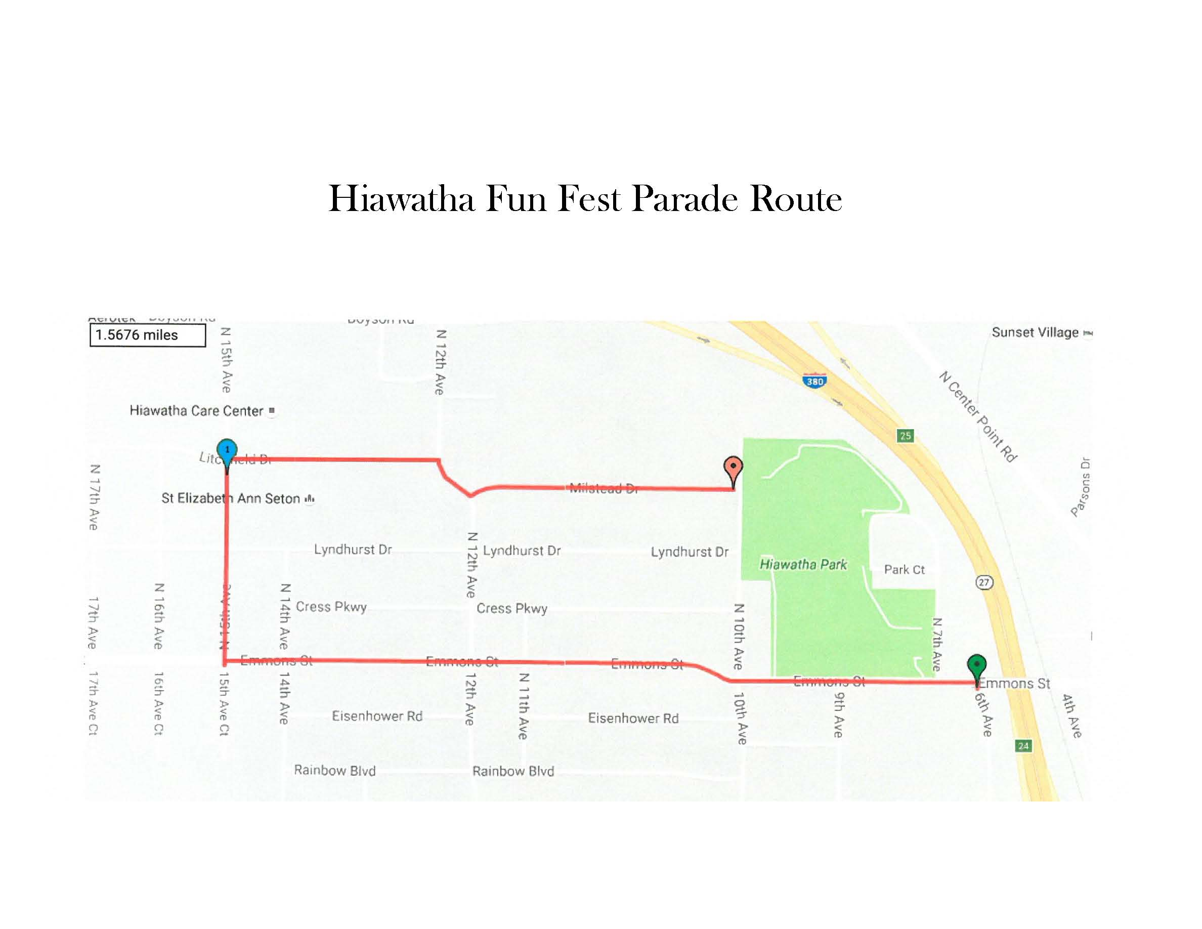Hiawatha Iowa Map.Events City Of Hiawatha Ia