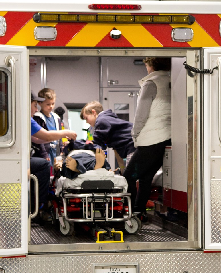 EMS Week Open House
