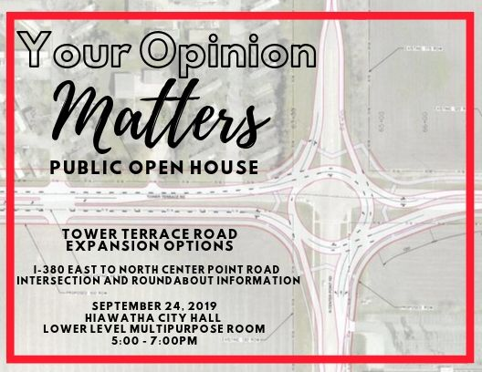 Tower Terrace Road Expansion Options Public Open House