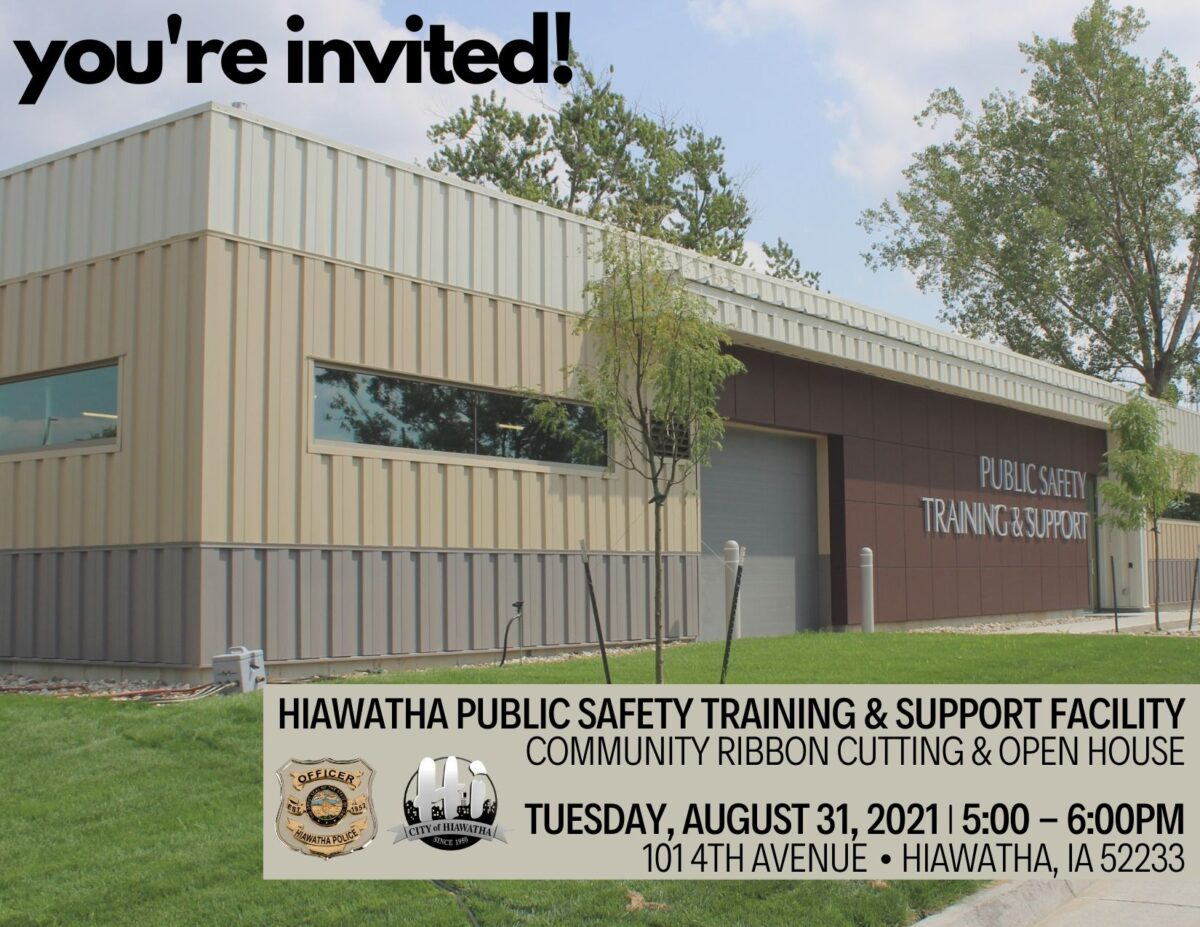 You're invited! Public Safety Training & Support Ribbon Cutting